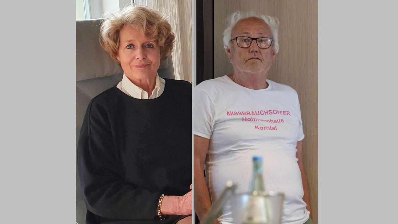 Gäste (Aufzeichnung): Brigitte Baums-Stammberger und Werner Hoeckh, ehemalige Richterin und Missbrauchsopfer, Arbeiten an der Aufklärung der Missbrauchsfälle in Korntal.