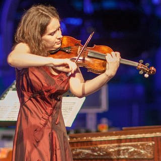 Patricia Kopatchinskaja in Dresden, 2012 (Foto: picture-alliance / Reportdienste, Oliver Killig)