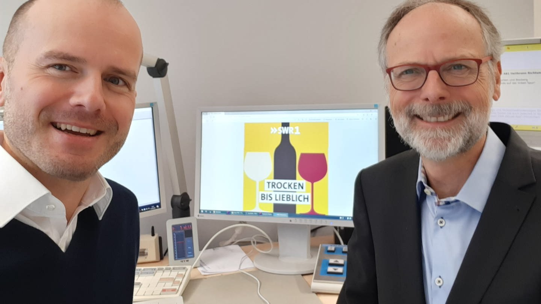 Werner Eckert und Dominik Bartoschek (Foto: SWR, Werner Eckert und Dominik Bartoschek)