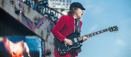 ACDC-Gitarrist Angus Young (Foto: dpa Bildfunk, picture alliance/CITYPRESS 24)