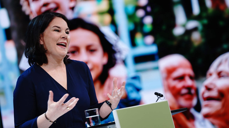 Annalena- Baerbock (Foto: dpa Bildfunk, Kay Nietfeld)