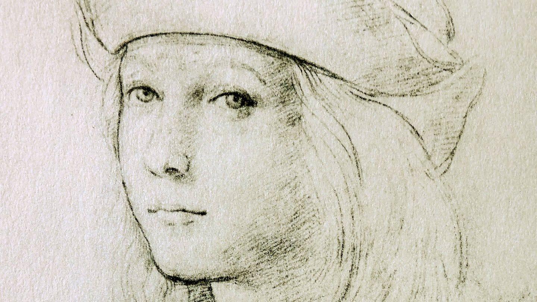 Raffaelo Sanzio da Urbino (1483 - 1520); Selbstporträt um 1497 (Foto: Imago, imago images / United Archives International)