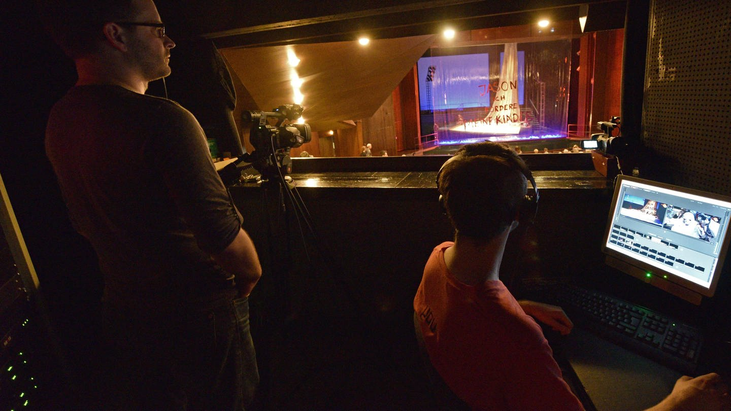 Theater als Streaming-Angebot? (Foto: picture-alliance / Reportdienste, Theater als Streaming-Angebot?)