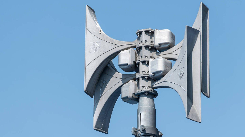 Elektronische Sirene zur Alarmierung der Feuerwehr und zur Katastrophenwarnung der Bevölkerung.