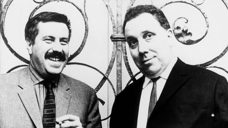Günter Grass und Johannes Bobrowski (Foto: picture-alliance / Reportdienste, akg-images)