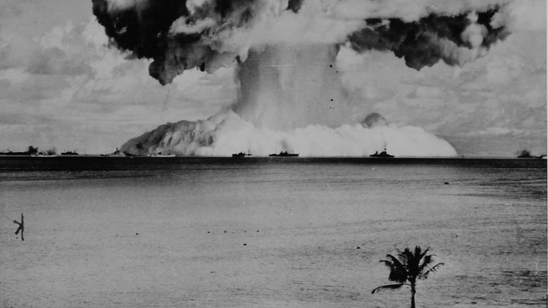 US-Atomexplosion im Pazifik. 1962. (Foto: picture-alliance / Reportdienste, IMAGNO/Austrian Archives)