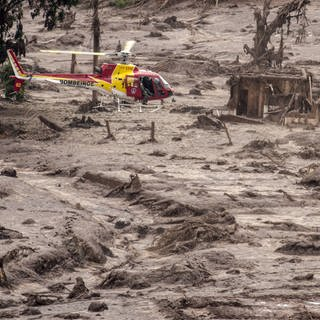 Dammbruch in Mariana, Brasilien (Foto: Imago, ZUMA Press )