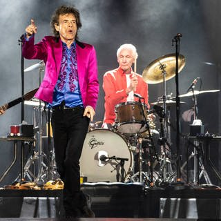 Die Band The Rolling Stones bei einem Livekonzert (Foto: Imago, imago images / MediaPunch / ximageSPACEx)