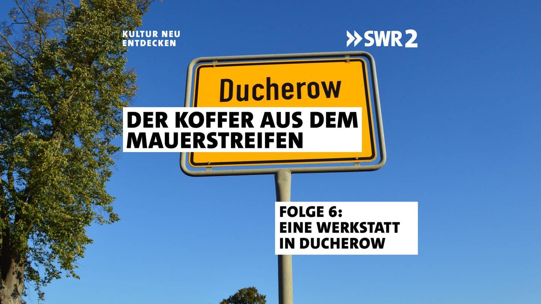 Ortschild Ducherow
