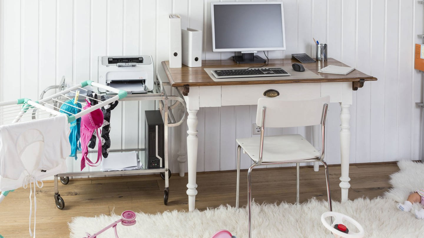 Messy home office property released