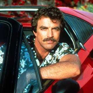 "Tom Selleck von der Fernsehserie ""Magnum"" (Foto: Imago, imago images / ZUMA Press)"