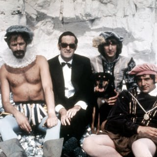 MONTY PYTHON S FLYING CIRCUS, Michael Palin, Graham Chapman, John Cleese, Eric Idle, Terry Jones (Foto: Imago, imago images / Everett Collection)