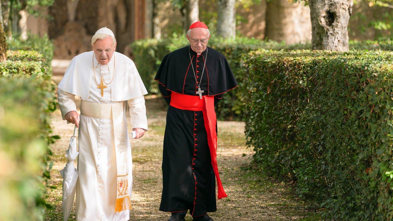 Filmstill: Die zwei Päpste (Foto: Pressestelle, Netflix)