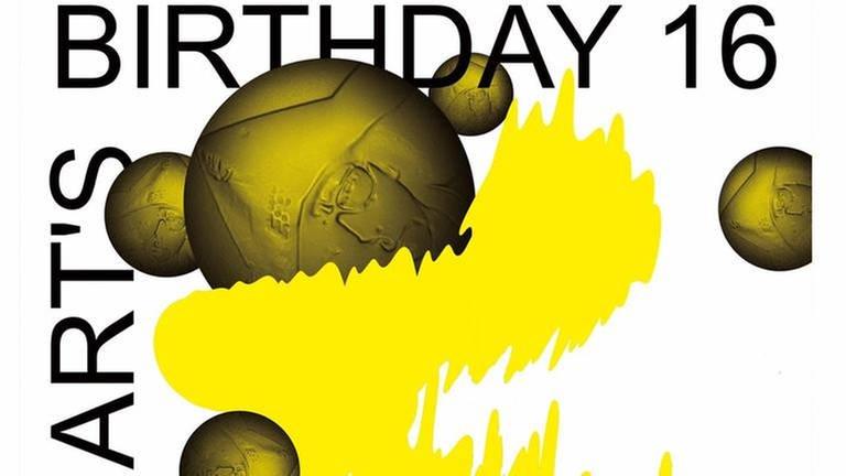 Banner des Art's Birthday 2016 (Foto: SWR, SWR -)