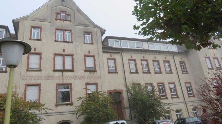 Das ehemalige Hauptgebäude der Diakonie Kork
