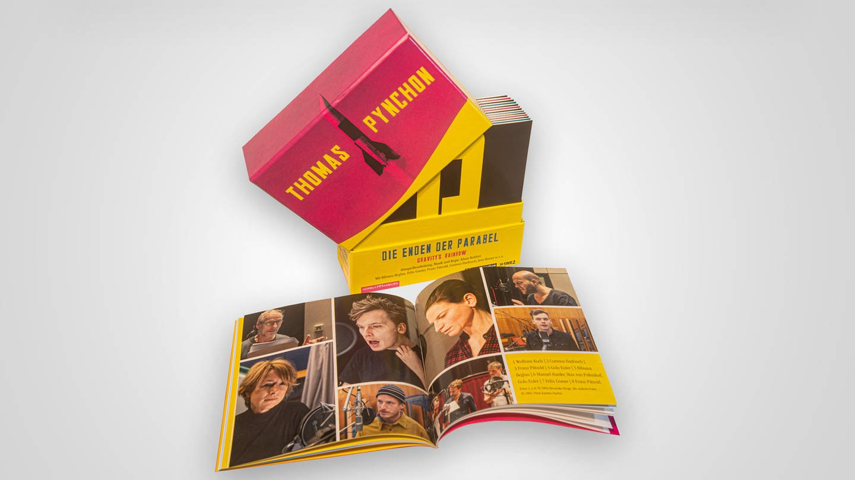 Booklet und CD Box des Hörspiels/Hörbuches