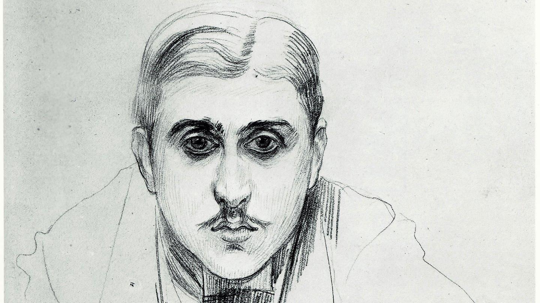 Porträt von Marcel PROUST am 1. Oktober 1891 in Trouville. Zeichnung von Jacques-Emile BLANCHE (1861-1942) (Foto: Imago, Kharbine Tapabor)