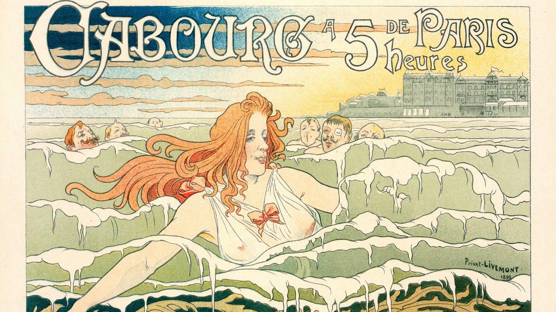 Belgisches Poster für le Casino de Cabourg (1896) (Foto: Imago, Artokoloro)