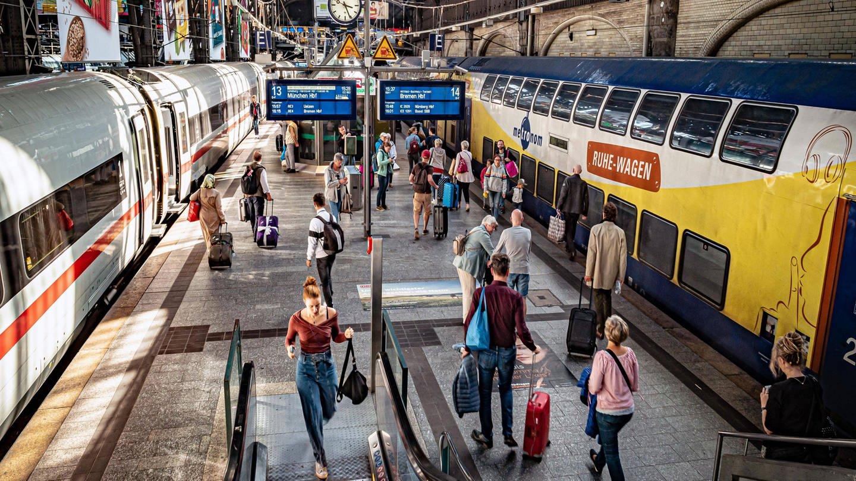 Hauptbahnhof, Hamburg (Foto: Imago, Jürgen Ritter)