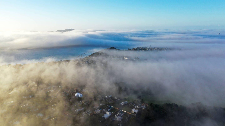 Auckland Wolken über der Stadt (Foto: Imago, Xinhua)