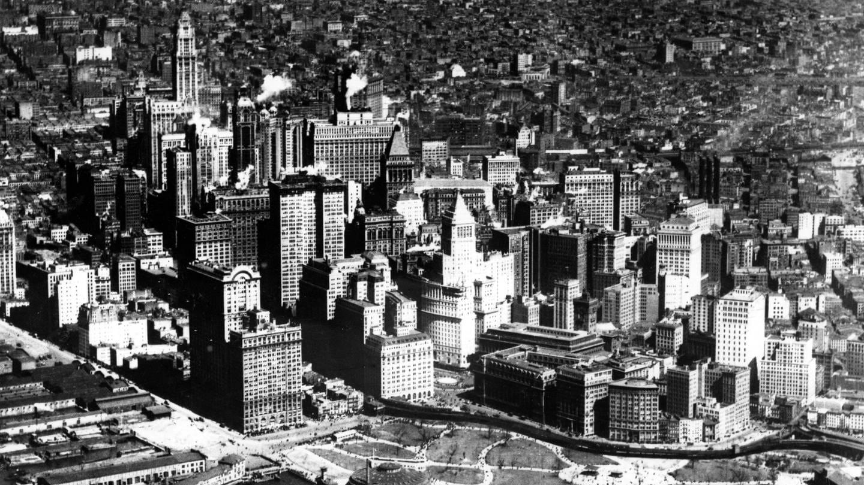 Luftaufnahme New York (ca. 1924) (Foto: Imago, imago/United Archives International)