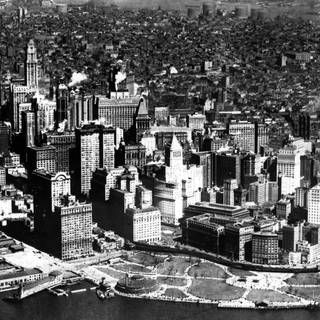 Luftaufnahme New York (ca. 1924)  (Foto: Imago, imago/United Archives International)