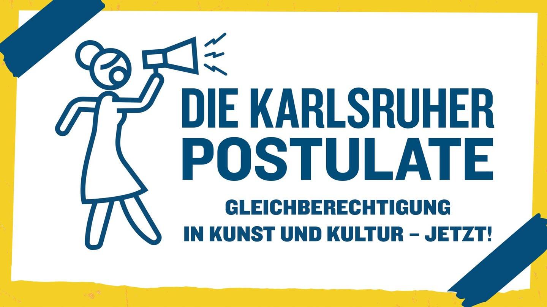 Logo der Karlruher Postulate (Foto: WDR/ Marc Trompetter)