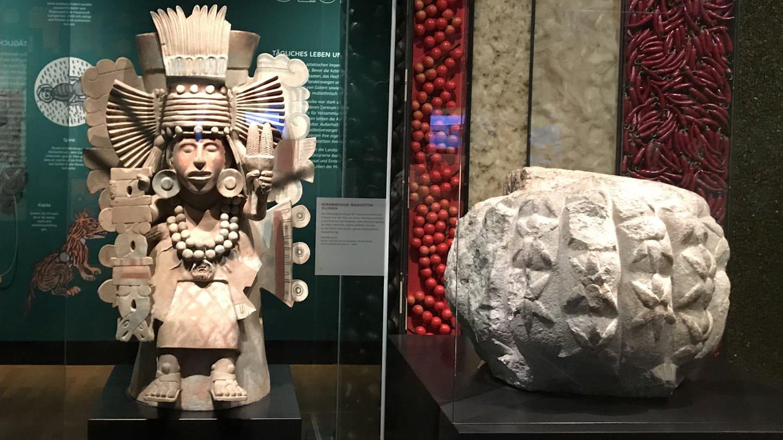 Azteken-Ausstellung im Linden-Museum Stuttgart (Foto: SWR, Silke Arning)