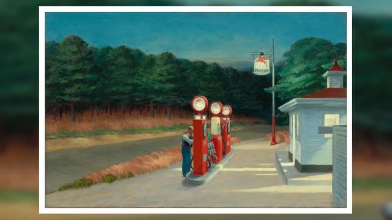 Hopper Ausstellung Basel
