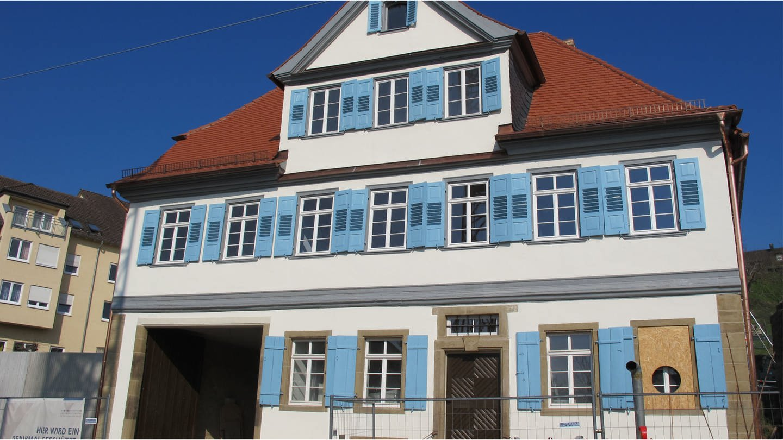 Rekonstruktion des Hölderlinhauses in Lauffen am Neckar (Foto: SWR, Silke Arning)
