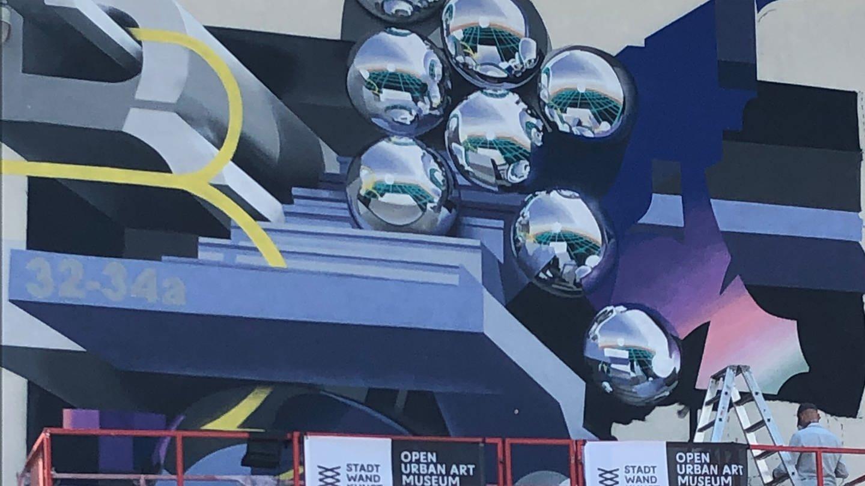 """Eröffnung der neuen Saison """"Stadt.Wand.Kunst 2020"""" in Mannheim (Foto: SWR, Marie-Dominique Wetzel)"""