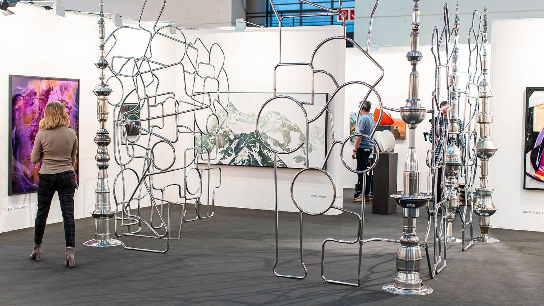 Impressionen von der art KARLSRUHE 2020 (Foto: SWR, Foto: Paul Gärtner)