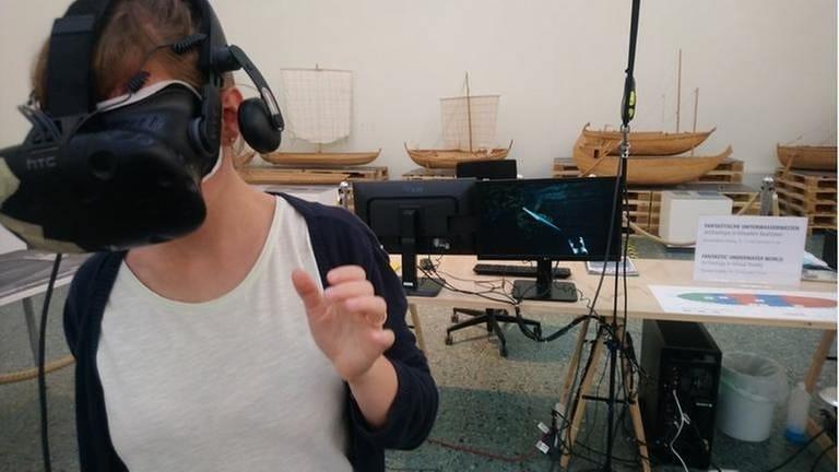 Virtual-Reality im Museum für Antike Schifffahrt, Mainz (Foto: SWR, Museum für antike Schifffahrt, Mainz - Museum für antike Schifffahrt, Mainz)