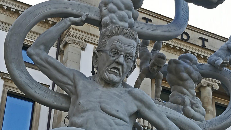 S21 Statue von Peter Lenk (Foto: SWR, Felix Kainzbauer)