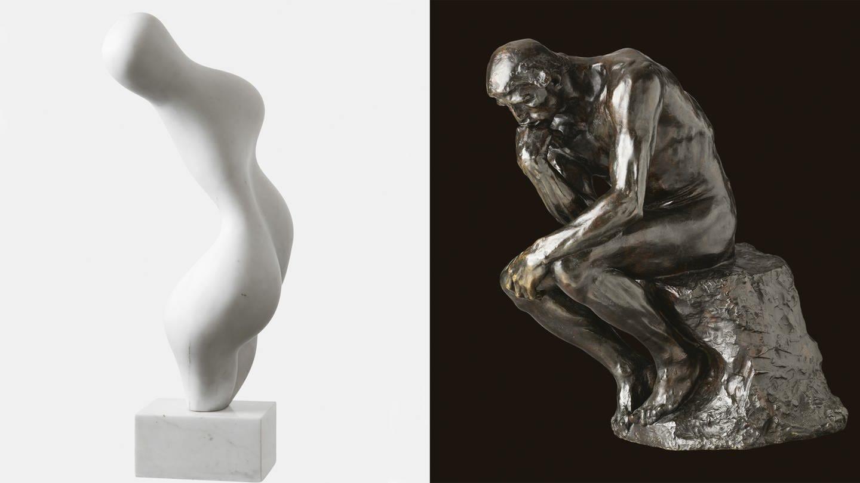 Rodin/ Arp in der Fondation Beyeler