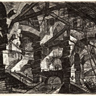 The Gothic Arch, from Carceri d'invenzione (Imaginary Prisons), ca. 1749-50 (Foto: Imago, Giovanni Battista Piranesi)