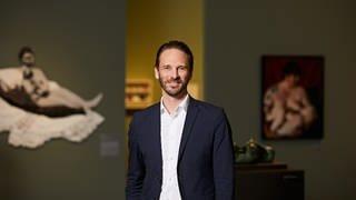 Direktor der Kunsthalle und Kurator der Ausstellung Johan Holten  (Foto: Pressestelle, Kunsthalle Mannheim: Elmar Witt)