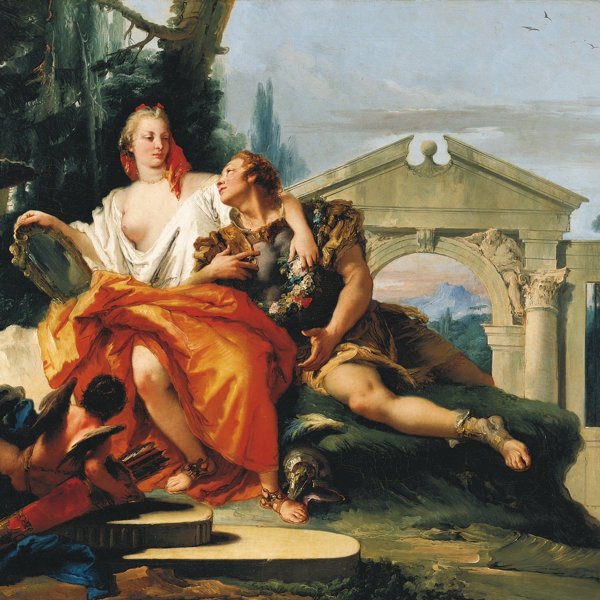 Tiepolos Malerei - Dem Himmel so nah