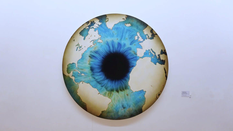 Marc Quinn: The Eye of History (2011) Kunsthalle Würth, Schwäbisch Hall (Foto: SWR)