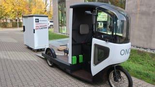 Pedalpower für die Innenstadtlogistik (Foto: SWR, Ernst-Ludwig von Aster)