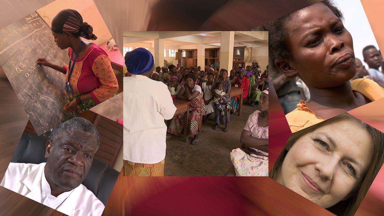 Friedensnobelpreiträger Dr. Denis Mukwege behandelt im Kongo Frauen, die Opfer von Gewalt sind. (Foto: SWR)