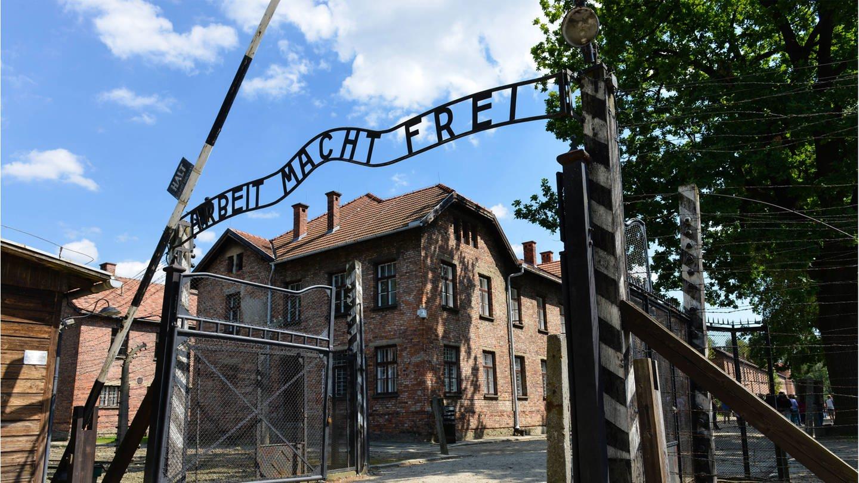 Eingangstor Konzentrationslager Auschwitz-Birkenau, Polen (Foto: Imago, imago stock&people/Schöning)