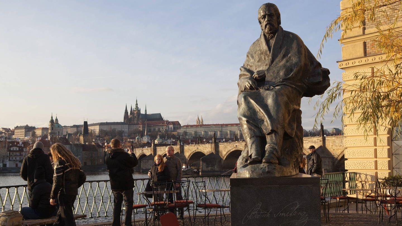 Statue von Bedřich Smetana in Prag (Foto: Imago, imago/CTK Photo/JosefHorazny)