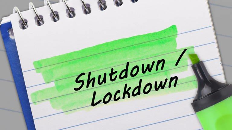 Wort der Woche: Shutdown / Lockdown