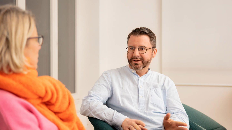 Cordt Winkler im Interview mit Christiane Wirtz