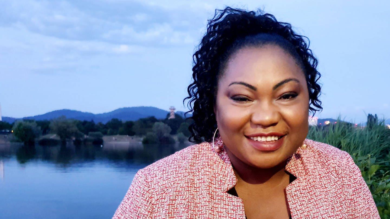 Dr. Sylvie Nantcha, Bundesvorsitzende des African Network of Germany e.V.