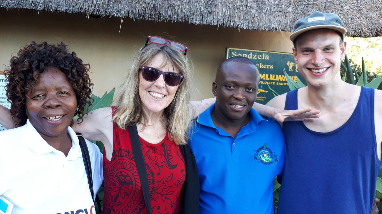 Annette Lennartz und Jan Sichau, Voices of Africa (Foto: Annette Lennartz)