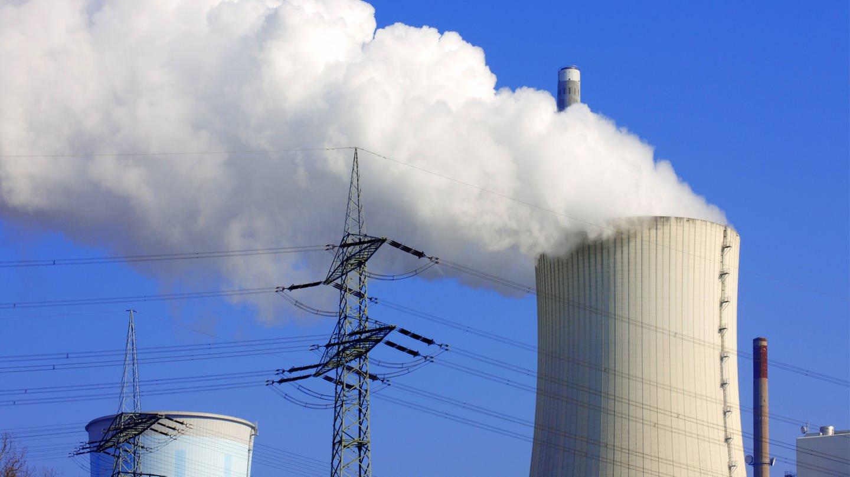 Kühlturm eines Braunkohlekraftwerks (Foto: Imago, blickwinkel/McPHOTO/A. Pulwey)