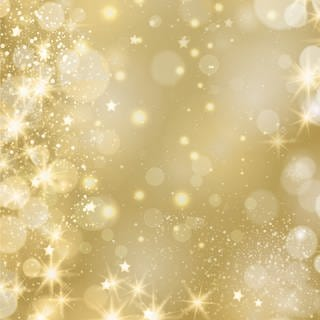 Golden Sparkling Background (Foto: Imago, hillvalley via www.imago-images.)
