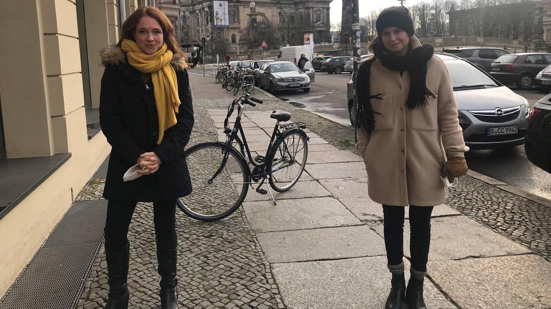 Mirjam Meinhardt und Luisa Neubauer (re.) (Foto: SWR, Mirjam Meinhardt)